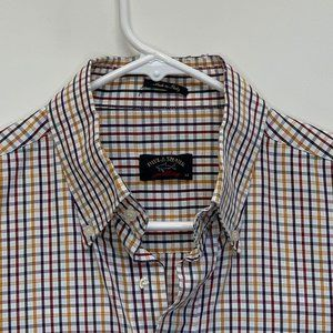 Paul and Shark Mens Checked Shirt Multicolor